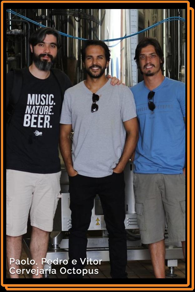 Paolo, Pedro e Victor