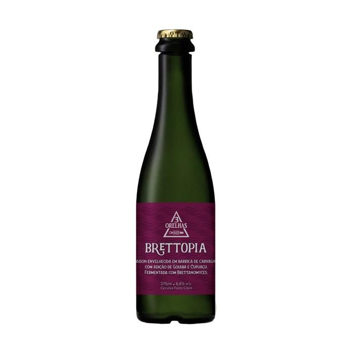 Cerveja 3 Orelhas Brettopia, 375ml