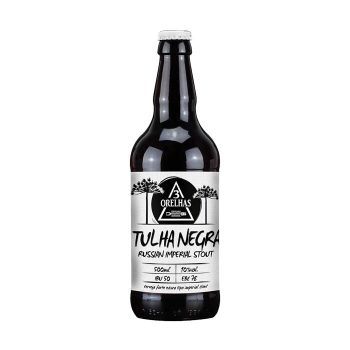 Cerveja 3 Orelhas Tulha Negra, 500ml