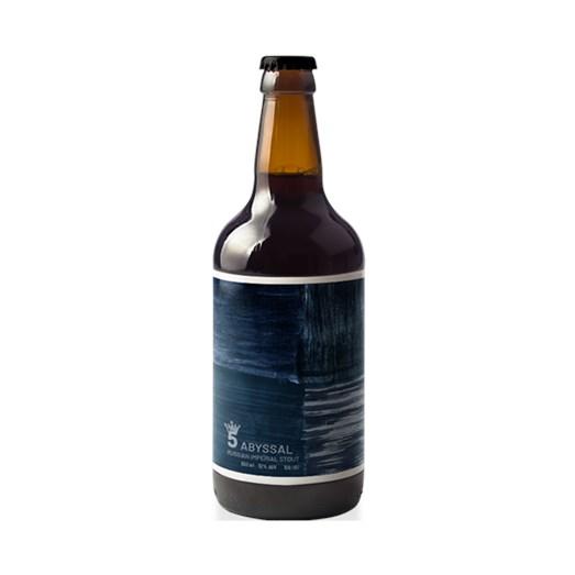 Cerveja 5 Elementos Abyssal, 500ml
