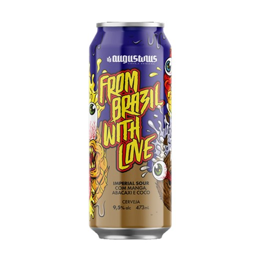 Cerveja Augustinus From Brazil With Love, 473ml