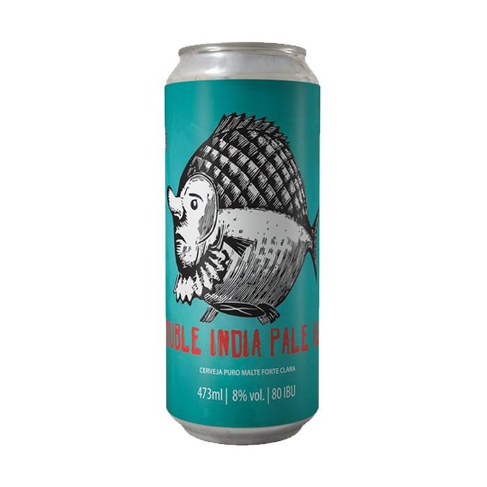 Cerveja Bodoque Double IPA, 473ml