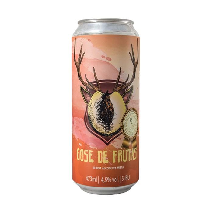 Cerveja Bodoque Gose de Frutas, 473ml