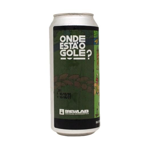 Cerveja BrewLab Onde Está o Gole? - Wally Goes Hazy, 473ml