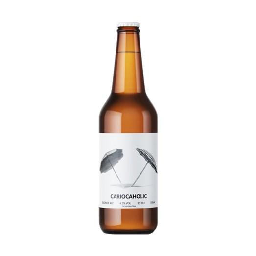 Cerveja CARIOCA Cariocaholic Blonde Ale, 500ml