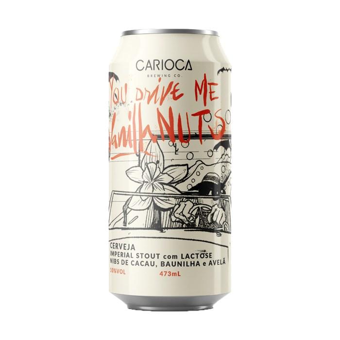 Cerveja CARIOCA You Drive Me Vanilla Nuts, 473ml