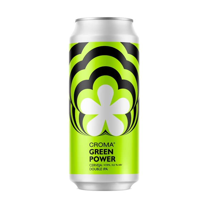 Cerveja Croma Green Power, 473ml