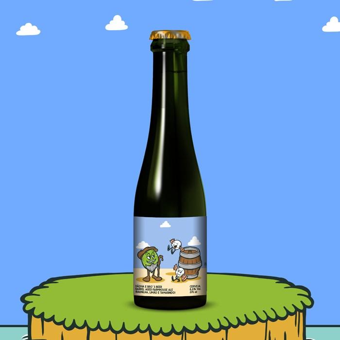 Cerveja Dádiva e Bro's Beer Seu Limão e os Tamarindos, 375ml