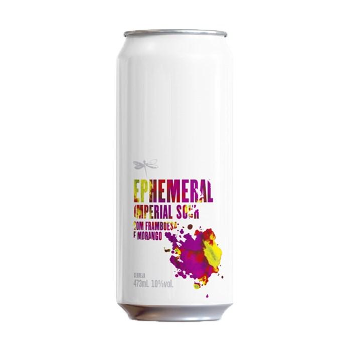Cerveja Dádiva Ephemeral Framboesa E Morango, 473ml