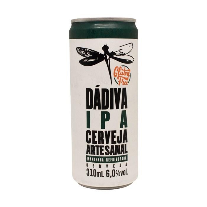 Cerveja Dádiva IPA Glúten Free, 310ml