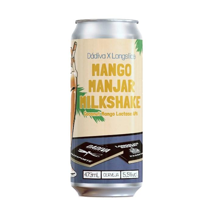 Cerveja Dádiva Mango Manjar Milkshake, 473ml