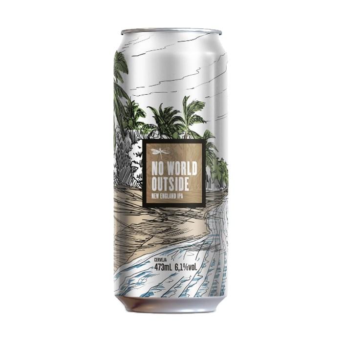 Cerveja Dádiva No World Outside, 473ml