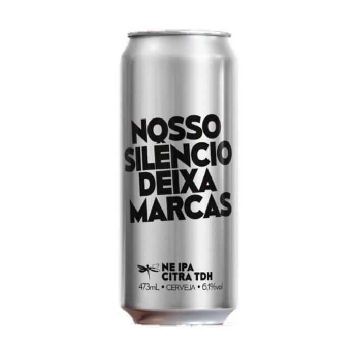 Cerveja Dádiva Nosso Silêncio Deixa Marcas, 473ml