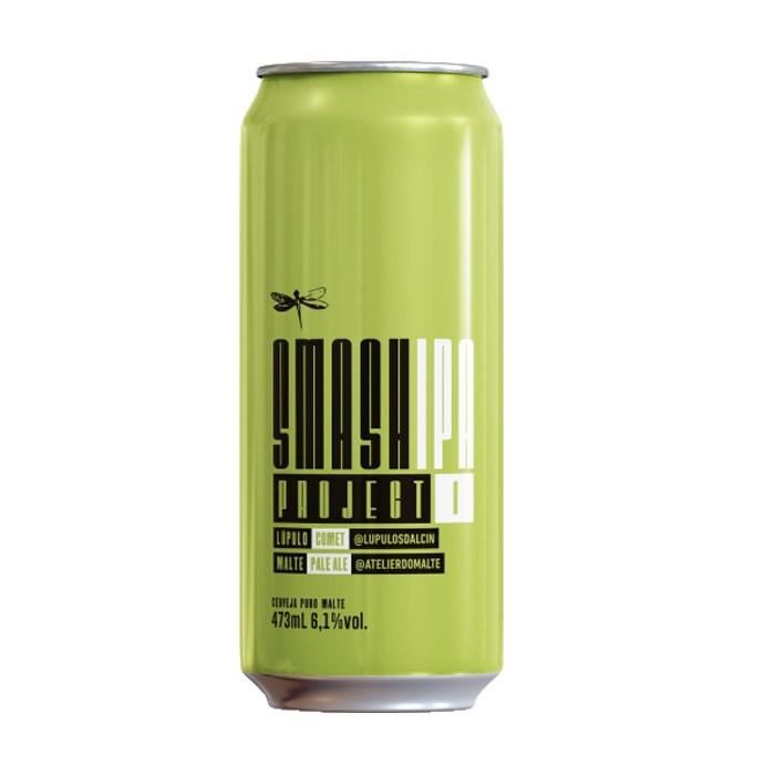 Cerveja Dádiva SMaSH Project I, 473ml