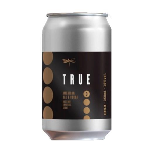 Cerveja Dádiva True American Oak & Cocoa, 350ml