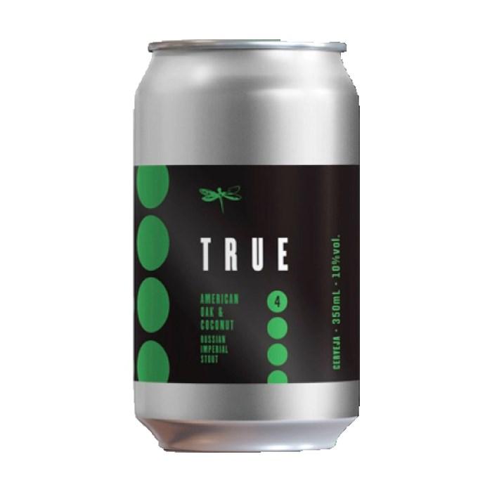 Cerveja Dádiva True American Oak & Coconut, 350ml