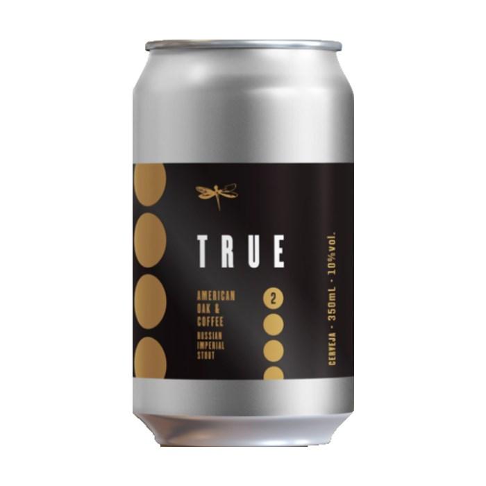 Cerveja Dádiva True American Oak & Coffee, 350ml