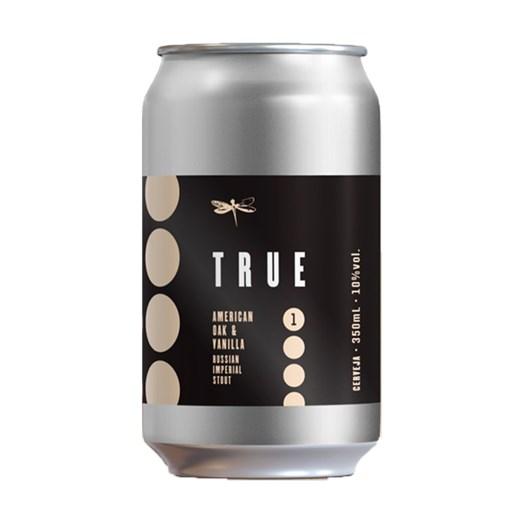 Cerveja Dádiva True American Oak & Vanilla, 350ml