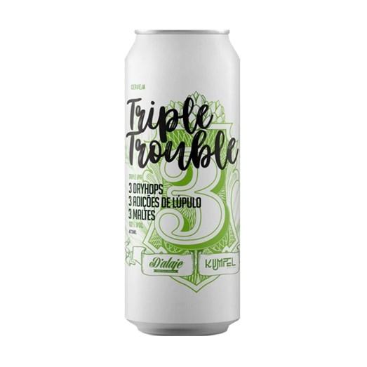 Cerveja Dalaje e Kumpel Triple Trouble, 473ml