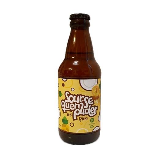Cerveja D'alaje Sour-se Quem Puder #6 Piña, 310ml