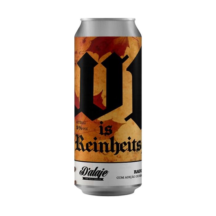 Cerveja D'alaje WTF is Reinheitsgebot?, 473ml