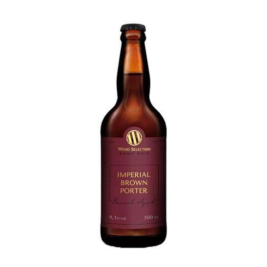 Cerveja Dama Bier Wood Selection Imperial Brown Porter, 500ml