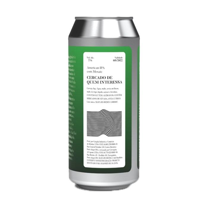 Cerveja Devaneio do Velhaco Cercado de Quem Interessa, 473ml