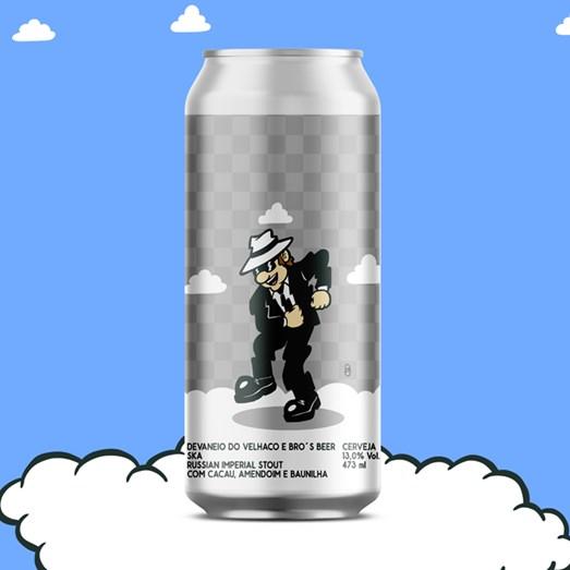 Cerveja Devaneio do Velhaco e Bro's Beer SKA, 473ml