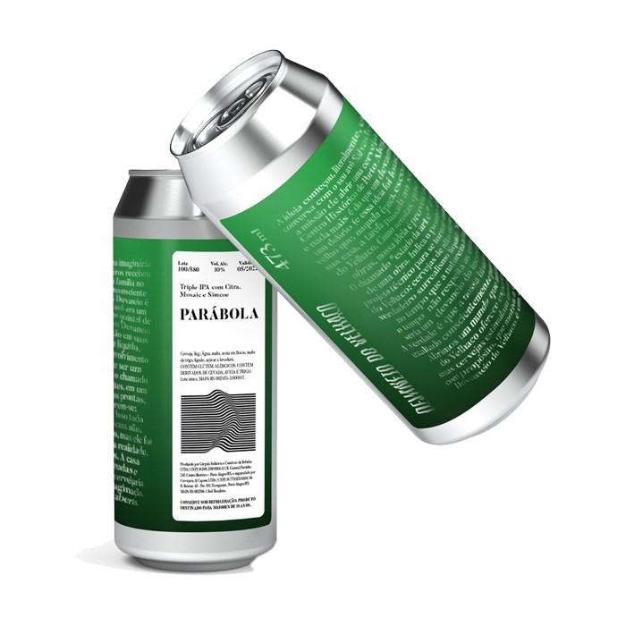 Cerveja Devaneio do Velhaco Parábola, 473ml