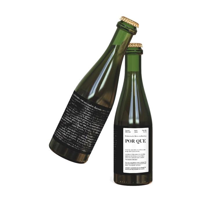 Cerveja Devaneio do Velhaco Por Que, 375ml