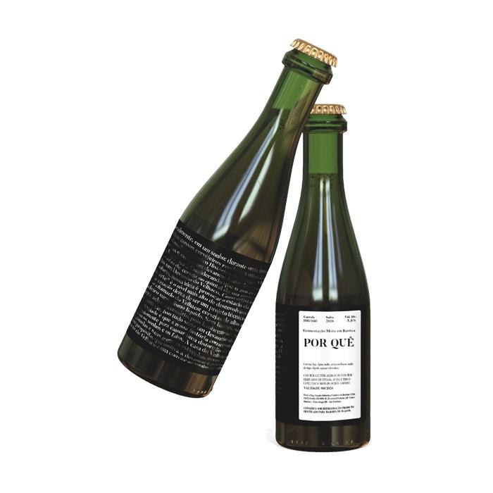 Cerveja Devaneio do Velhaco Por Quê (Amora), 375ml