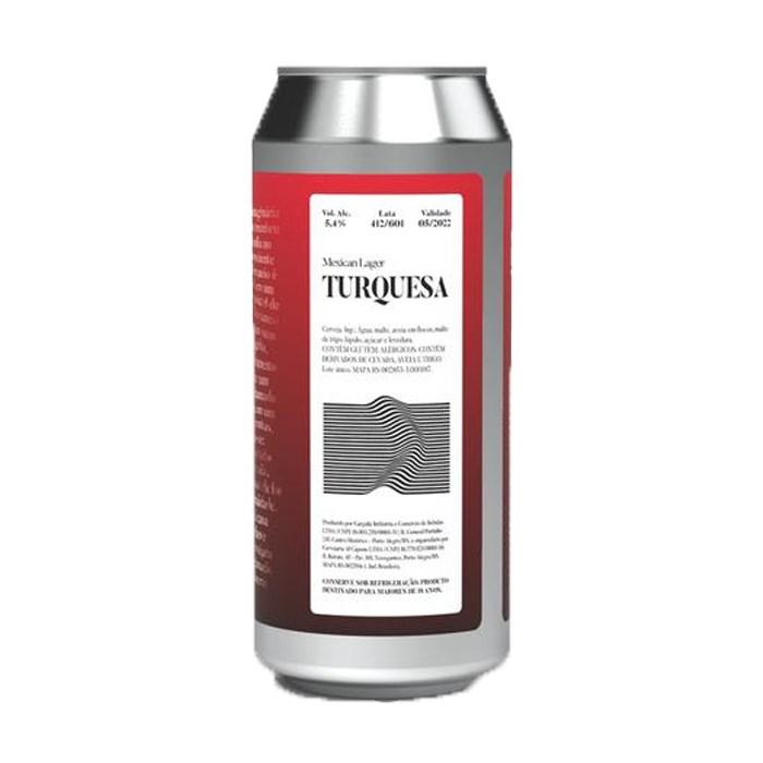 Cerveja Devaneio do Velhaco Turquesa, 473ml