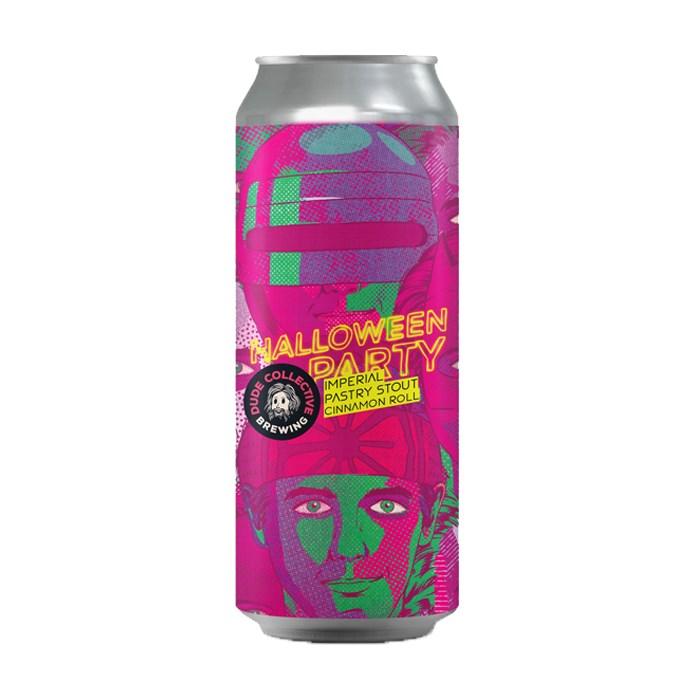 Cerveja Dude Halloween Party, 473ml