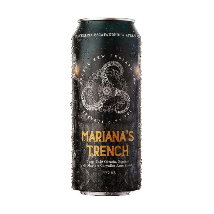 Cerveja Escafandrista Mariana's Trench, 473ml