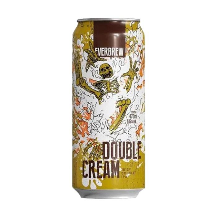 Cerveja EverBrew Double Cream, 473ml