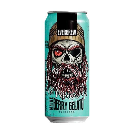 Cerveja EverBrew Maine Berry Gelato, 473ml