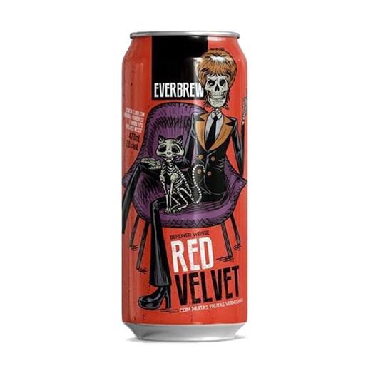 Cerveja EverBrew Red Velvet Sour, 473ml