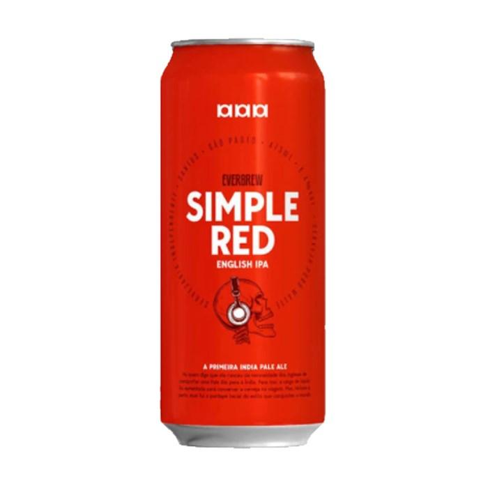 Cerveja EverBrew Simple Red, 473ml