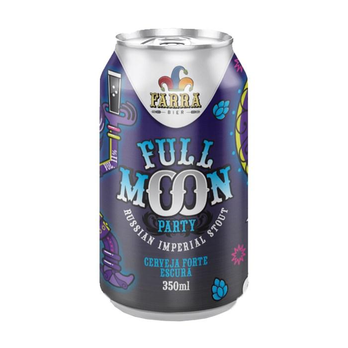 Cerveja Farra Bier Full Moon Party, 350ml