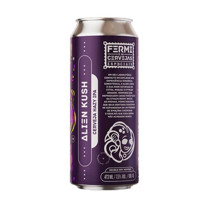 Cerveja Fermi Alien Kush, 473ml