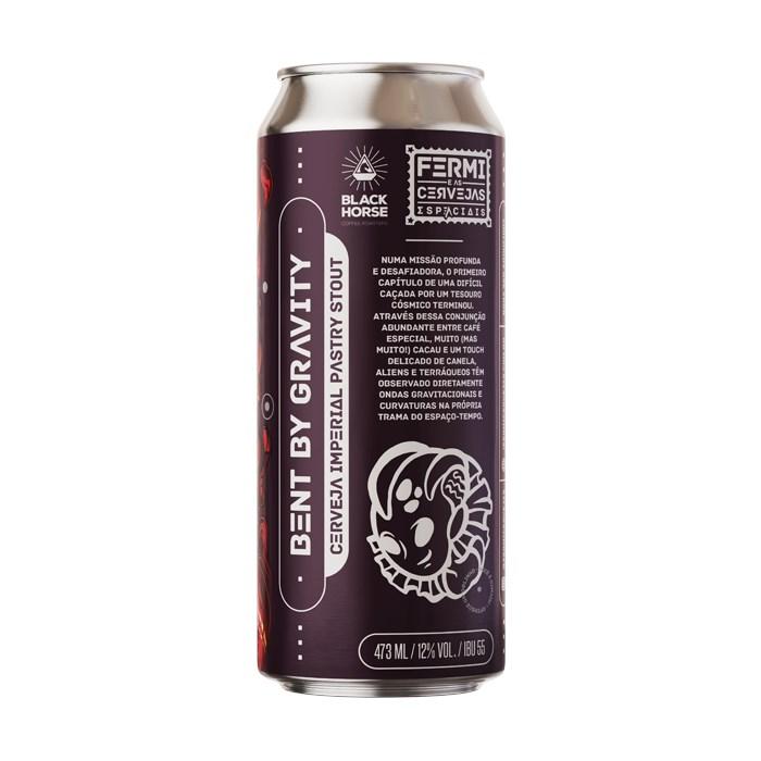 Cerveja Fermi Bent By Gravity, 473ml