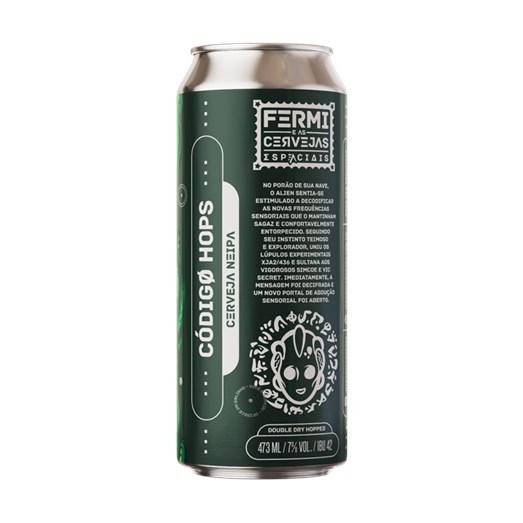 Cerveja Fermi Código Hops, 473ml