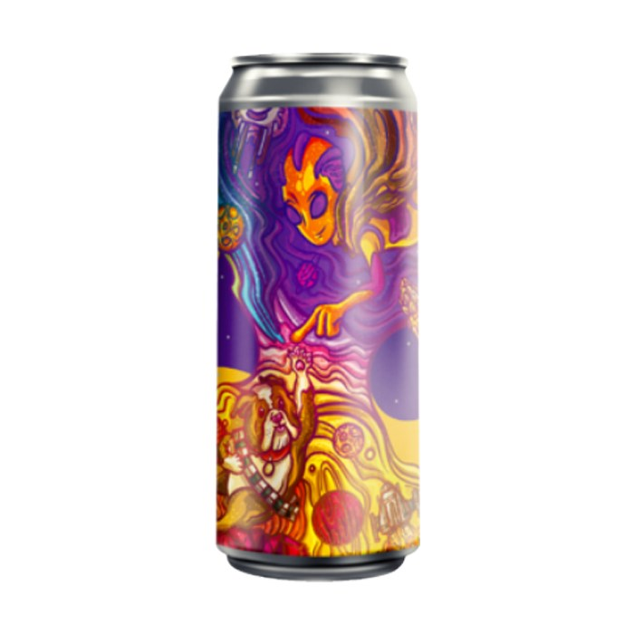 Cerveja Fermi Dark Side Of The Juicy, 473ml