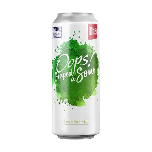 Cerveja Fermi e Dom Haus Oops! I Graped A Sour, 473ml
