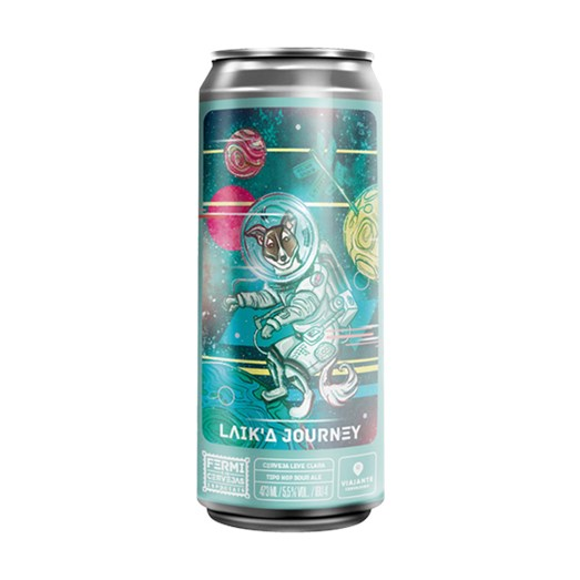 Cerveja Fermi Laik'a Journey, 473ml