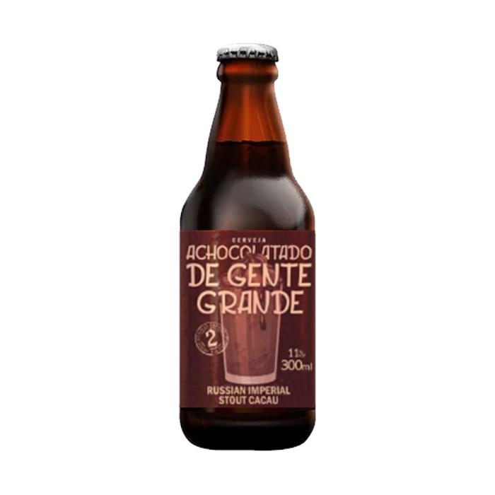 Cerveja Hankzbier Achocolatado De Gente Grande, 300ml