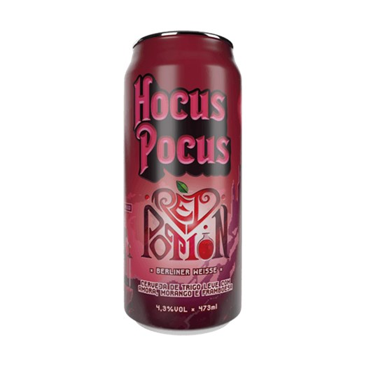 Cerveja Hocus Pocus Red Potion, 473ml