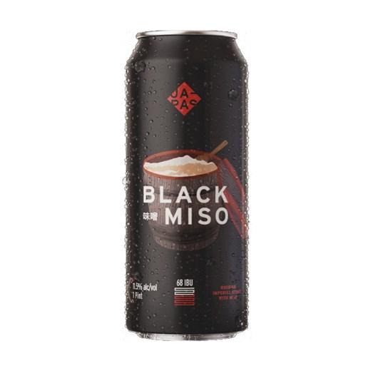Cerveja Japas Black Miso, 473ml