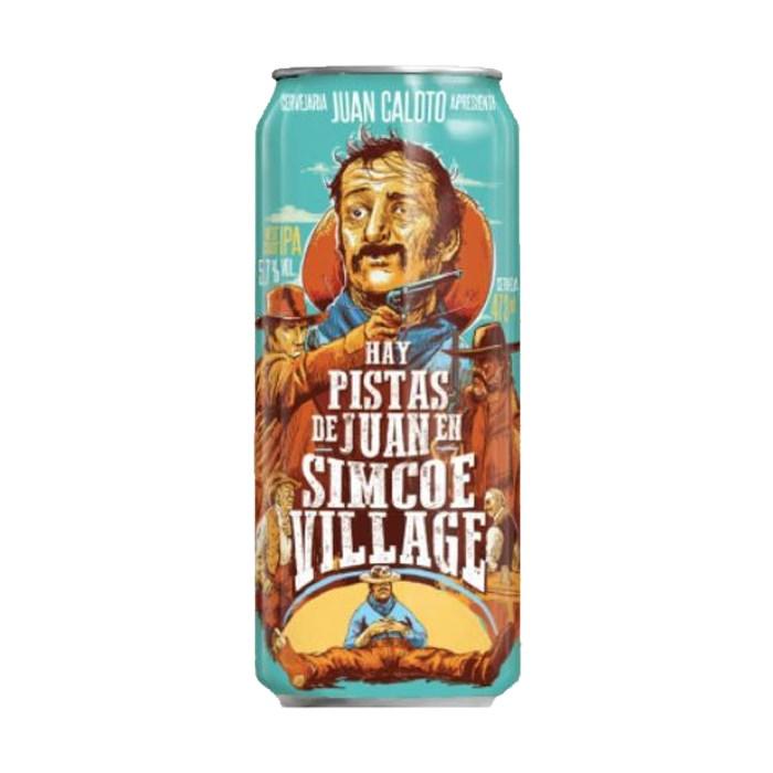 Cerveja Juan Caloto Hay Pistas De Juan En Simcoe Village, 473ml