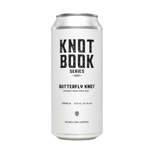 Cerveja Koala San Brew Knot Book Series Butterfly Knot, 473ml
